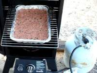 Meatloaf In Char-Broil Gas Smoker
