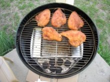Weber Grill Smoking, Smoking Chicken in a Weber Kettle