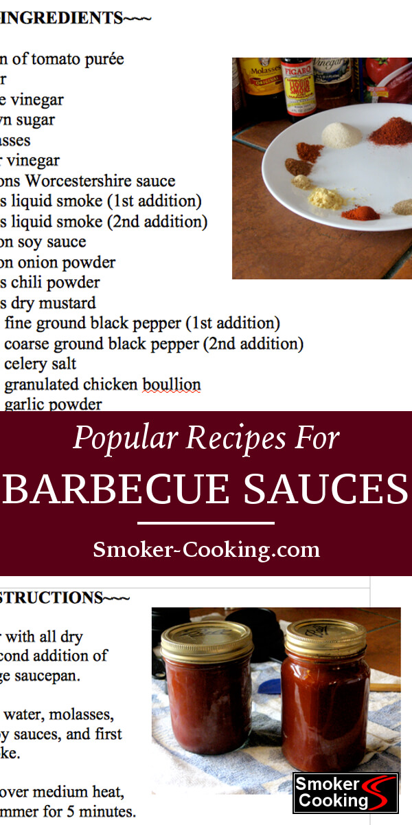 Smoked Foods Deserve Great Barbecue Sauces. Try One of These Tasty BBQ Sauces Today!
