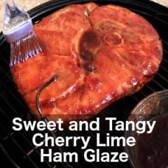 Cherry Lime Ham Glaze Recipe