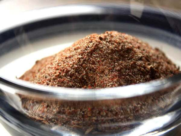 Dry Rub Mix Prepared For Baby Back Ribs Recipe