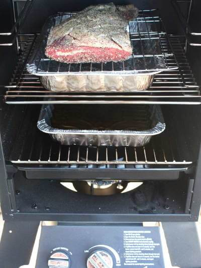 Beef Tri Tip In a Char Broil Gas Smoker