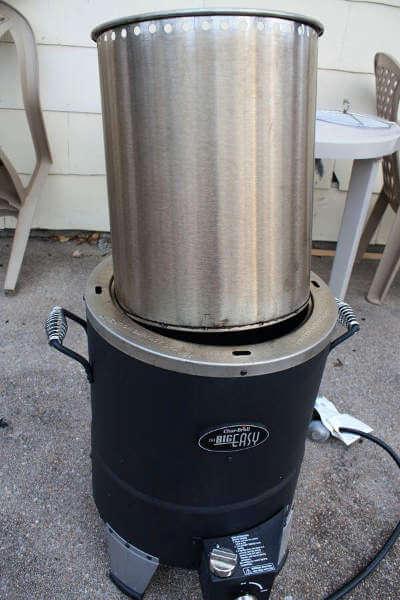 Big Easy Infrared Turkey Fryer Radiant Metal Liner