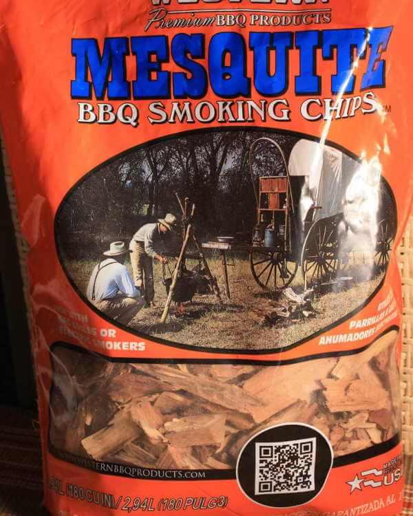 Bag of Mesquite Smoking Wood Chips