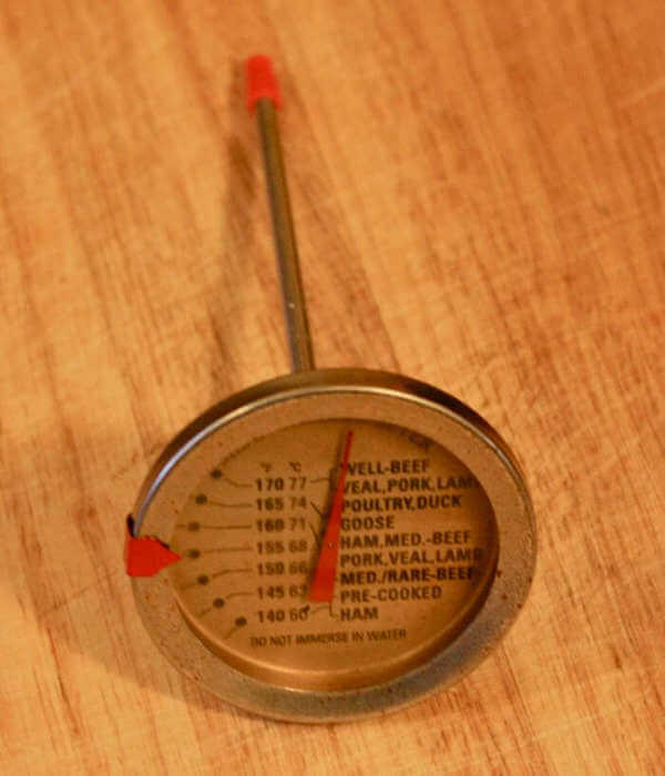 Big Easy Analog Thermometer, Provided With Cooker