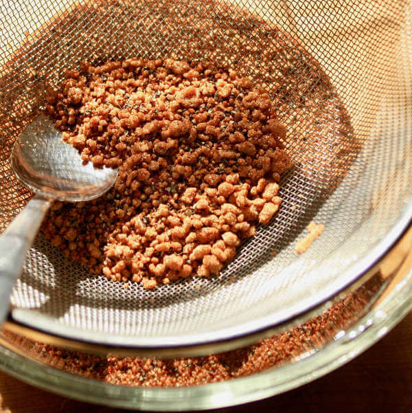 Hard Chunks of Brown Sugar Left After Sieving the Memphis Rub Will Need Extra Effort In Order To Be Broken Down.