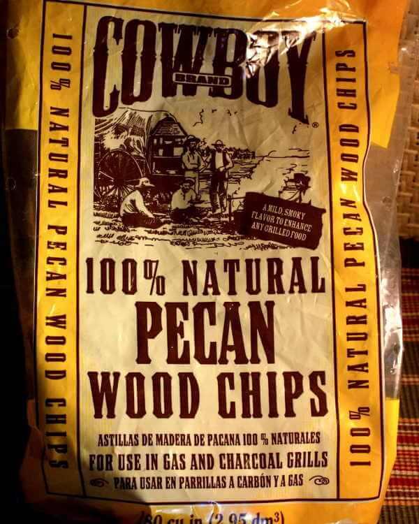 100% Natural Pecan Wood Chips For Smoking in Bag