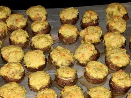 Stuffed Mushrooms In The Grill