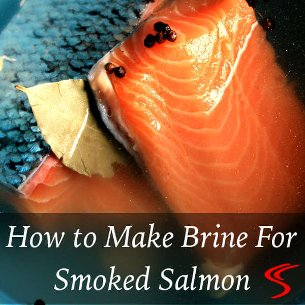Brining Salmon For The Smoker. Learn How To Make a Brine That Will Help You Create Great Smoked Salmon!