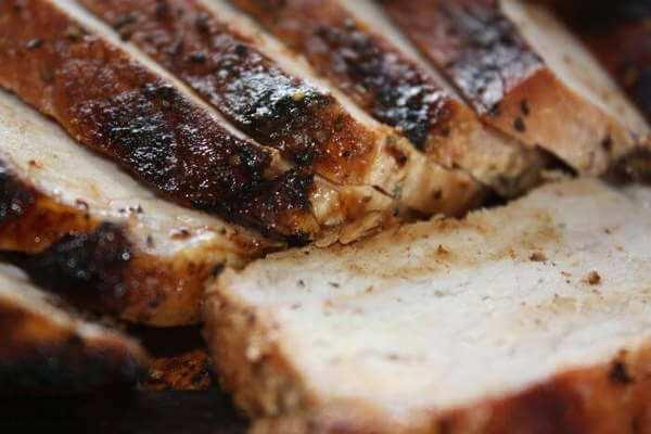 Sliced, Smoked Pork Loin Ready to Serve!