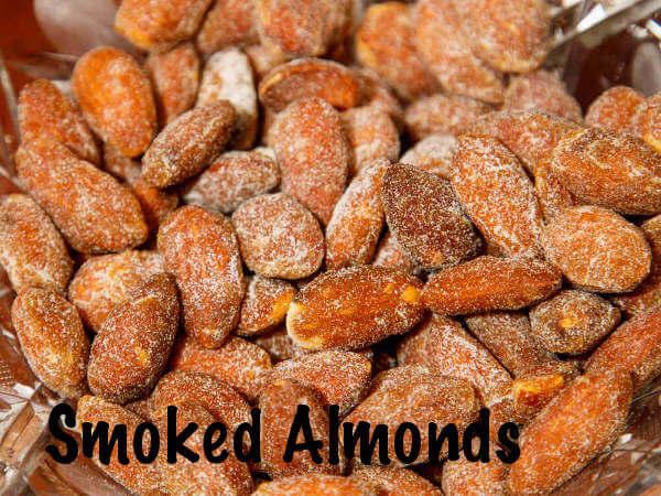 Bowl Full of Smoked Almonds