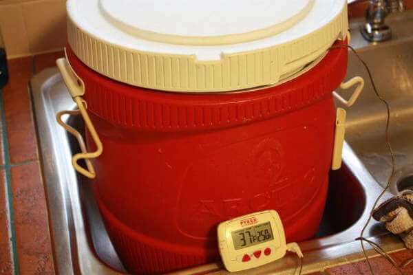 Insulated 5 Gallon Water Cooler Makes a Great Turkey Brining Container