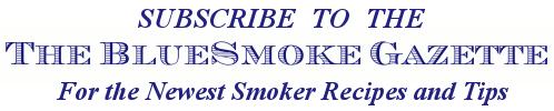 Bluesmoke Gazette Newsletter Sign Up Logo