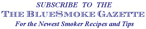 Bluesmoke Gazette Newsletter Sign Up Logo