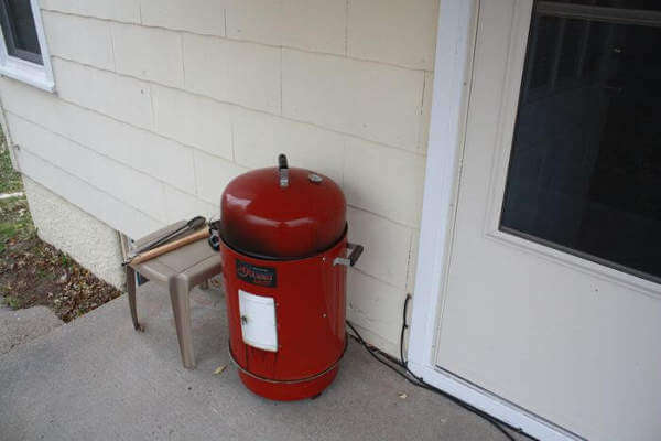 My Brinkmann Gourmet Smoker, Sitting On The Front Porch