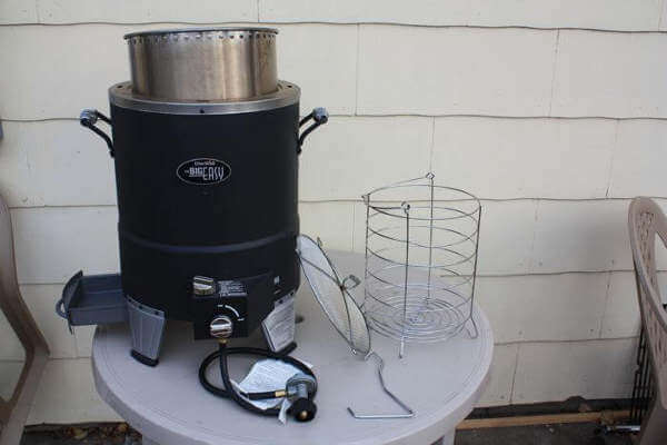 Complete Big Easy Turkey Fryer Setup