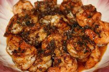 Wonderfully Seasoned Ancho Shrimp, Grill Smoked and Served In Bowl
