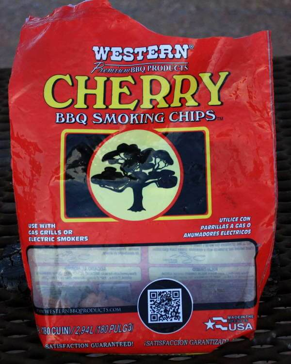 This Cherry Smoker Woodchip Bag Is Almost Empty!