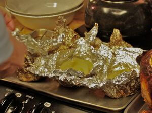 Whole Onions Cooked In Foil, Moist, Tender and Sweet!