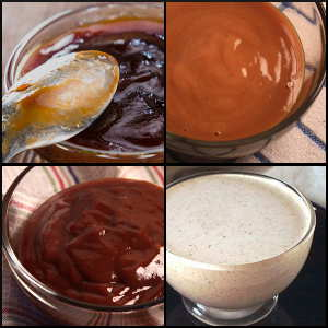 The Four Different Barbecue Sauces Shown Here Represent Just a Few Of The Sauce Styles Available