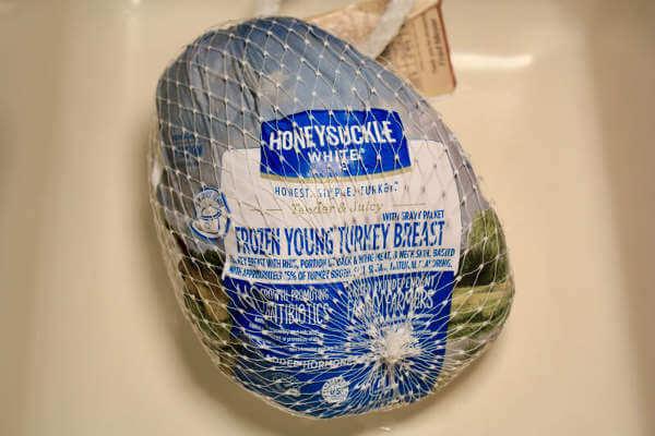 Smoked bone in turkey breast