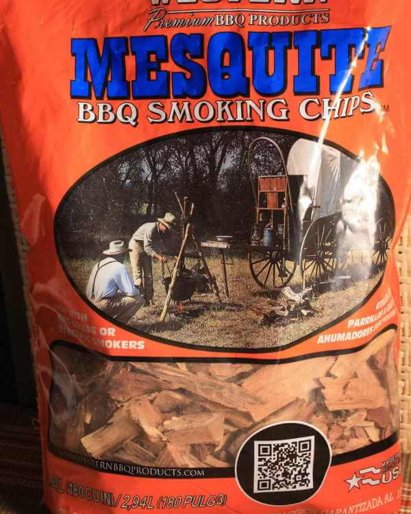 Bag of Mesquite Smoking Wood Chips