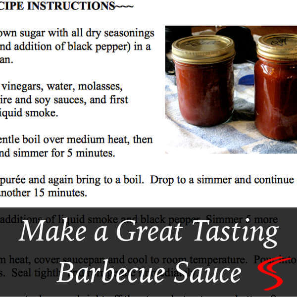 Great BBQ Sauce With Smoked Meat Is a Must-Have for Many People. Try One of These Barbeque Sauce Recipes and Please The People Who Eat Your Tasty Smoked Meats.