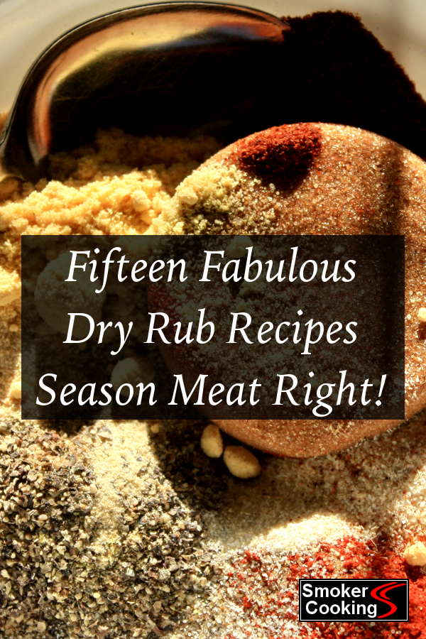 You'll find dry rub recipes that are perfect for all your meats, including Memphis ribs, smoked chicken and juicy smoked brisket rubs.
