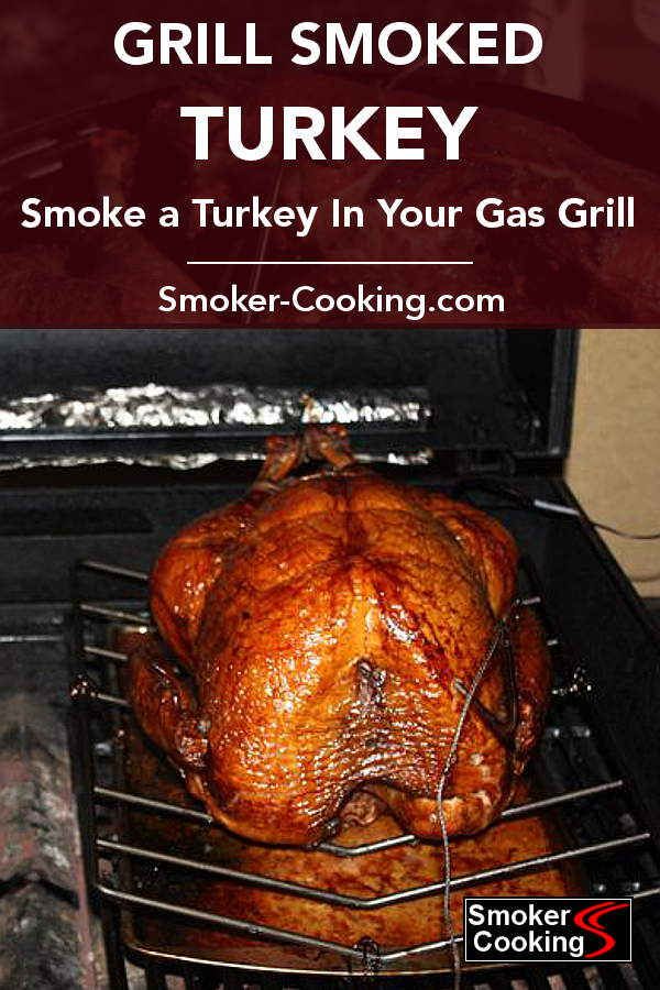 Gorgeous Turkey That Has Been Cooked With Smoke In a Gas Grill