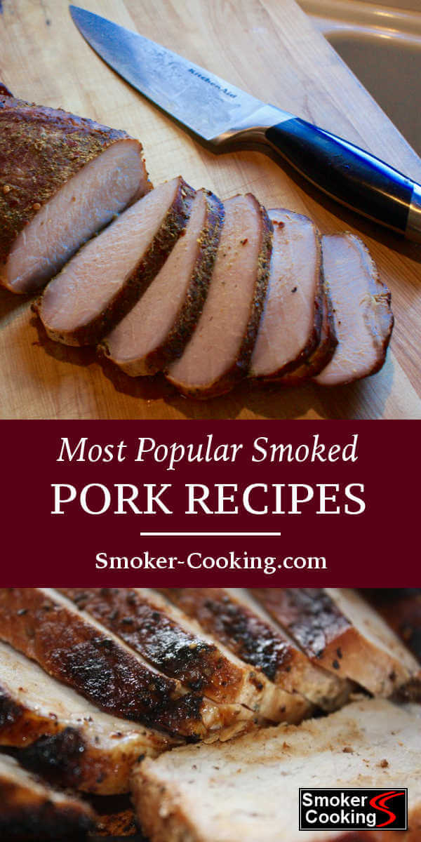 This collection of smoked pork recipes will excite your taste buds. Smoked pork shoulder, loins, roasts and chops are a few recipes you just gotta try!
