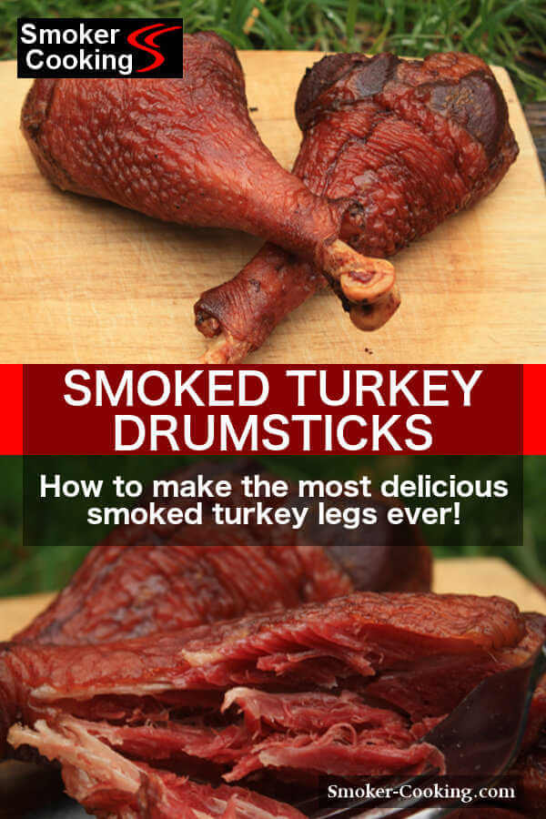How to Make The Most Delicious Smoked Turkey Drumsticks!