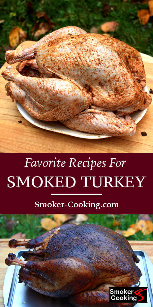 Enjoy one of these smoked turkey recipes, and learn how to smoke 'em with the step by step turkey smoking instructions.