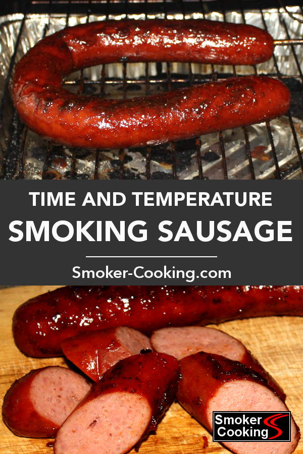 How Long To Smoke Sausage That's Safe to Eat But Still Juicy