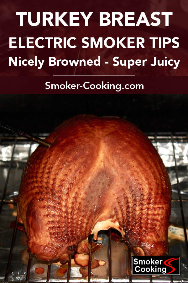 Perfectly Browned Turkey Breast In a Masterbuilt Electric Smoker