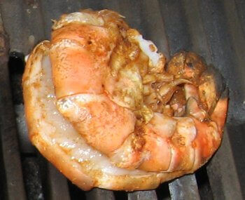 Colossal Soy Garlic Shrimp On The Grill