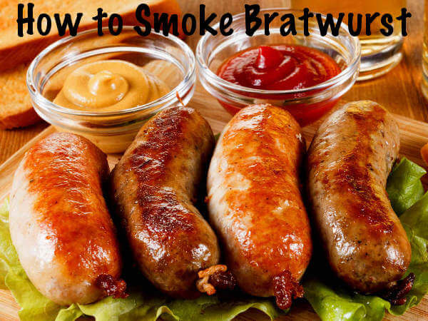 Four Smoked Brats, Two Chicken and Two Beef