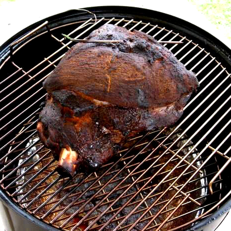 How Long Did It Take to Smoke This Pork Shoulder In My Weber Smoky Mountain?