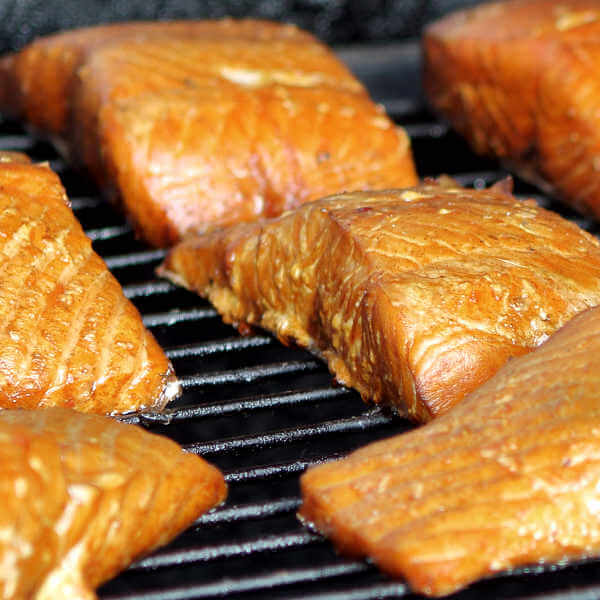 Smoking Salmon Fillets In a Little Chief Smoker