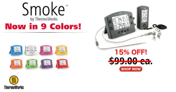 Smoke Thermometer 15% Off