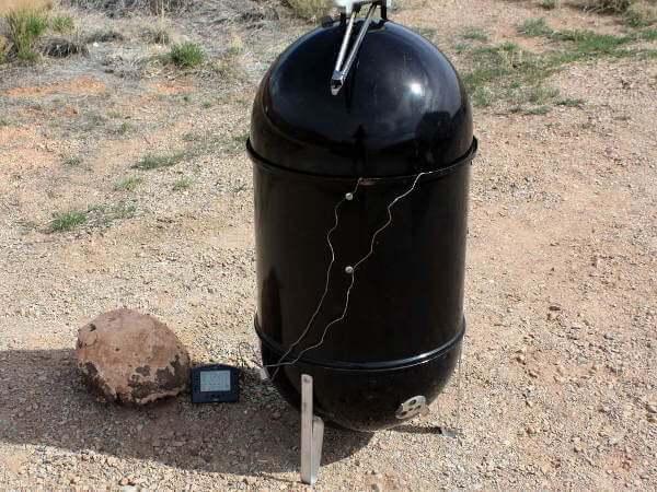 Weber Smoky Mountain Charcoal Smoker
