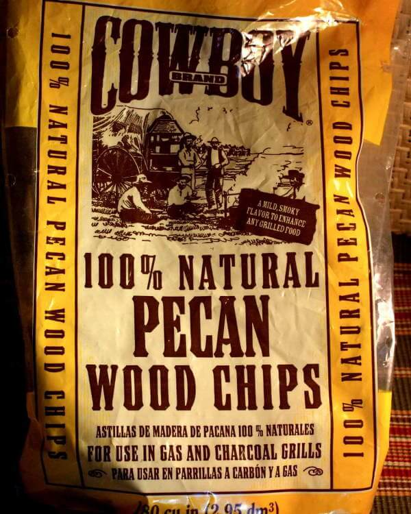 Pecan Smoker Wood Chips In Bag