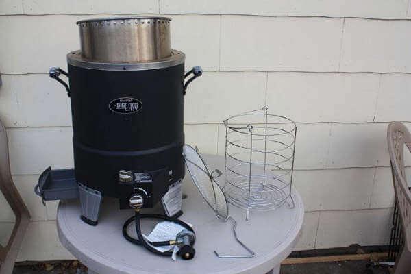 Complete Big Easy Turkey Fryer Setup