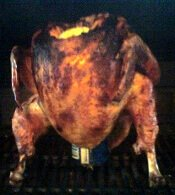 Grill-Smoked Beer Can Turkey Cooked To Sweet Perfection By The State of Georgia's Honorable Fellow, Mr. Jarod Mock.