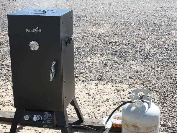Char Broil Smoker In Quartzsite Desert