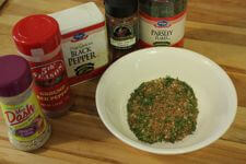 Seasoning Mix For Grill Smoked Shrimp In Bowl