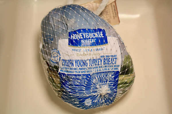 I Chose a Honeysuckly White Frozen Young Turkey Breast For This Recipe