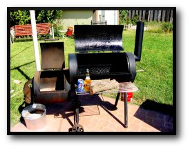 Meat Smokers, Smokey Joe Pit Smoker