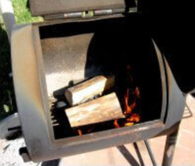 Oklahoma Joe Pitsmoker Fire, Preparing to Smoke a Brisket