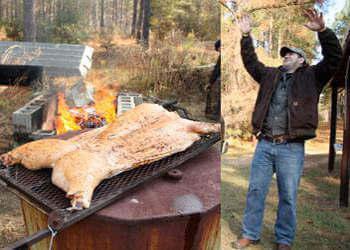 Praise Pork! Jarod Loves Smokin' Whole Hogs!