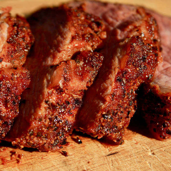 Grilled, Rested and Sliced Beef Tri Tip, Truly a Thing of Wonder!